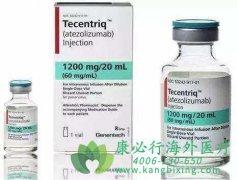 抗肿瘤药物阿特珠单抗(Atezolizumab)一线治疗肺癌