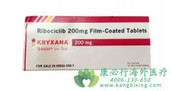 瑞博西尼(RIBOCICLIB)用于治疗晚期转移性乳腺癌患者